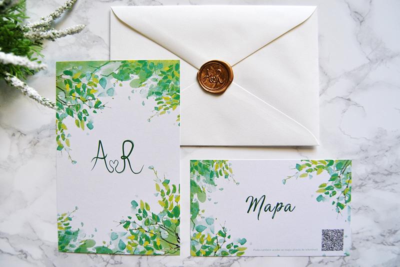 convite de casamento rústico campestre personalizado
